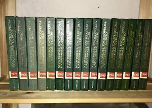 Enciclopedia Universale Curcio da collezione Annuario dal 1975 al 1990