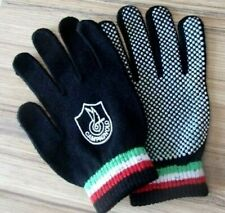 CAMPAGNOLO BLACK CYCLING GLOVES WITH ITALIAN BANDS SIZE LARGE / XL RRP £29.99