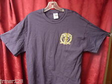 NJSP- NEW JERSEY STATE POLICE -new.-PBA FOP  TEE SHIRT 2XL OR 3 XL-  Navy Blue