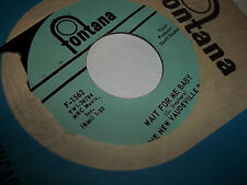 The New Vaudeville Band Winchester Cathedral Wait for Me Baby 45 NEAR MINT