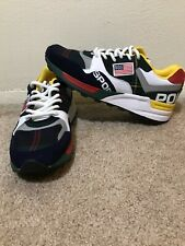Polo Sport Ralph Lauren Trackstar 100 Sneakers Ath Mens Shoes Size 8 Rare