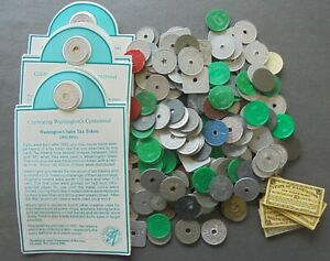 200+  TAX TOKENS  - LOTS OF VARIETY