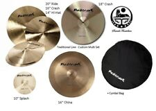 Masterwork Cymbals Custom 6 Pack Multi Cymbal Box Set (Traditional Line)