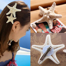 NEW Womens Girls Sweet gift Nice Starfish Beach Sea Star Hairpin Hair Clip