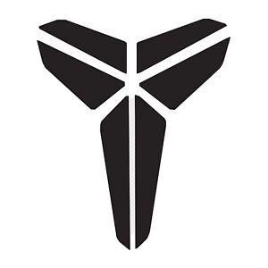 Kobe Bryant Black Mamba Logo Decal Sticker Set Of 2, 5inch