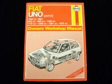 FIAT UNO PETROL 1983 ~ 1992 HAYNES SERVICE & REPAIR MANUAL 923
