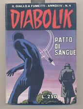 DIABOLIK anno XIV nr. 4 *originale 1975* (Ottimo)