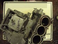 YAMAHA YZF R6 2004 2005 5SL:ENGINE CASES (DAMAGED):USED MOTORCYCLE PARTS