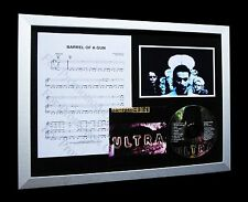 DEPECHE MODE Barrel Gun LTD Nod CD MUSIC FRAMED DISPLAY