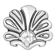 Lovelinks Bead Sterling Silver, Peacock Feathers CZ Design Charm Jewelry TT375CZ