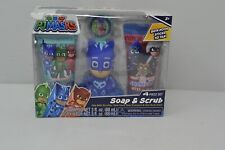 Pj Masks Soap & Scrub Kids Shampoo and Body Wash Bath Set V2/ 4 Pieces