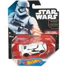 Hot Wheels Star Wars 1:64 Scale Diecast FIRST ORDER STORMTROOPER Character Car