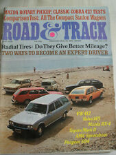 Road & Track Jul 1974 Cobra 427, BMW 2002 Turbo