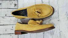NEW Cole Haan Pinch Sanford Tassel Loafers Spruce Yellow Men's Size 9