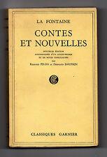 La Fontaine – Contes et Nouvelles. Plus avant-propos et notes explicatives.