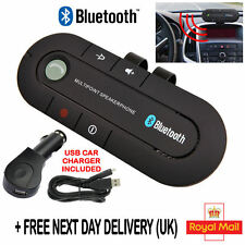 Altoparlante Bluetooth Vivavoce Auto Kit visiera Clip Per Cellulare Smart Phone Wireless