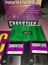 crossties for workgroups organizer Discs