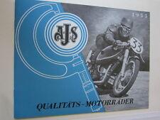 Motorrad Archiv Edition Faksimile 1076E AJS Qualitäts Motorräder 1955 Prospekt