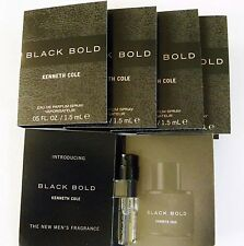 KENNETH COLE BLACK BOLD+ 5 YSL L'HOMME  FREE '10'  1.2-1.5 ML  SPRAYS +TOTE BAG