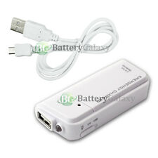 NEW Portable Battery Charger+USB Micro Sync Cable for Android Cell Phone 50+SOLD