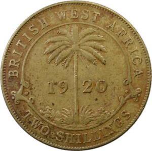 BRITISH WEST AFRICA - 2 SHILLINGS - 1920 - GEORGE V