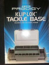 Greys Prodigy Klip Lok Tackle base UNLOADED Fishing