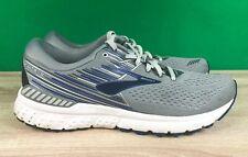 Brooks Adrenaline GTS 19, D058 Gray/White/Blue Men's Running Shoes Size 10