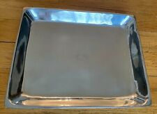 Pottery Barn Silver Candle Tray