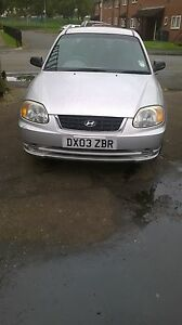 Hyundai Accent diesel for breaking all parts avilable