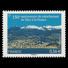 France 2010 - 150th Anniv the Treaty of Turin Landscape - Sc 3822 MNH