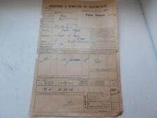 Chemin Fer de l' EST Gare VIVIER au court Vrigne Fonderie GUILLET FAGOT 1922