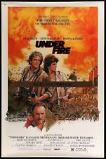"Original UNDER FIRE Rare 40"" x 60"" ROLLED Struzan Art NOLTE Hackman ED HARRIS"