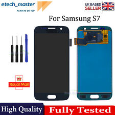 For Samsung Galaxy S7 LCD G930F Black Touch Screen Digitizer Replacement + Tools