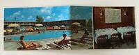 Holiday Inn Springfield Missouri Fold Out Hotel Pool Vintage Postcard