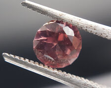 Natural pink Zircon 1.15ct round cut stunning gemstone