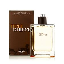 Terre D'Hermes Eau de Toilette Spray for Men by Hermes 6.7 oz.
