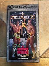 WrestleMania VI 6 WWF WWE Hulk Hogan Ultimate Warrior Macho Man Andre The Giant