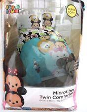 Disney Tsum Tsum Microfiber Reversible Comforter Size Twin Multicolor