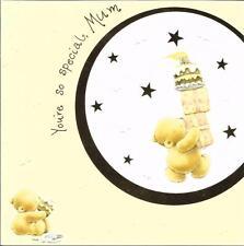 Carte D'Anniversaire Maman-Vous êtes si spéciale-Gâteau, présente, Bear