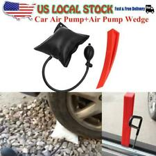 Car Air Pump Wedge Inflatable Hand Pump Car Door Window Shim Entry Open Tool Kit