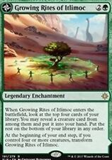 NEW MINT MTG Ixalan Growing Rites of Itlimoc Magic The Gathering w/TOP LOADER