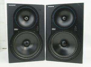 PAIR of Mackie HR824 High Resolution Studio Monitors Speakers