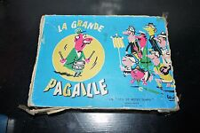 1961 VINTAGE FRENCH CARD GAME Jeu de Société ancien la Grande Pagaille