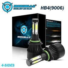 New listing 4-Sides 360° 9006 Hb4 Led Headlight Bulbs Fog Lamps Kit Xenon 6500K Waterproof