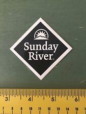 Sinday River Ski Resort Sticker