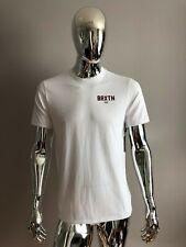 New Men's BRIXTON Premium Fit White Color T-Shirt Size M