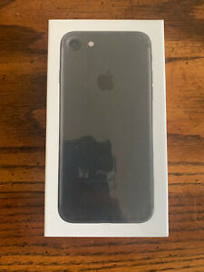 NEW SEALED Apple iPhone 7 Black 128GB UNLOCKED Cell Phone Cellular