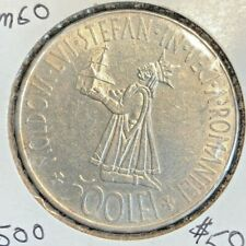 "1941 Romanian 500 LEI Coin  /""KING OF THE ROMANIANS/"""