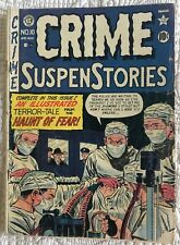 Golden Age CRIME SUSPENSTORIES #10 G 2.0 Great Classic Reading Copy!