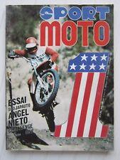 SPORT MOTO N°9 /950 Japauto /Angel Nieto /Challenge one Steve Mc Queen